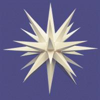 Herrnhuter Stern fürs Fenster weiss 13 cm